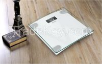 Free APP Bluetooth BMI glass bathroom scale