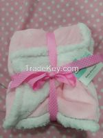 polyester super soft flannel baby blankets