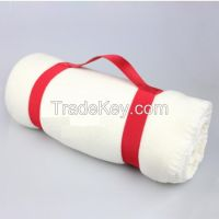 wholesale cheap polyester airplane polar fleece blankets