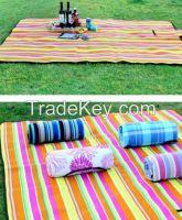 2017 fashion design cheap waterproof picnic blanket