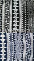 cheap fashion print woven rayon fabrics