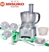 Multifunctional food processor with slicer
