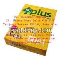 IK PLUS A4 80 GSM COPY PAPER