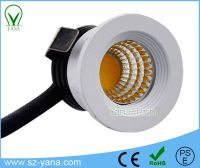 3W COB led mini Jewelry led downlight / led down light
