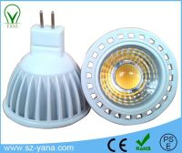 COB 3w 4w 5w MR16 GU10 GU5.3 E27 E26 12V 110V 220V 24V LED spot light