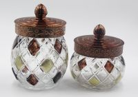 Glass Storage Bottle / Canister / Jars