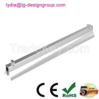 LED Tube Bracket Light to replace T8/T5 tube fixture with reflector high bay light, linear high bay, high bay tube 60W