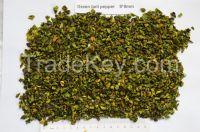 Dehydrated green bell pepper 9*9mm