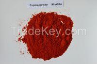Sweet paprika powder 140ASTA