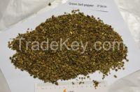 Dehydrated green bell pepper 3*3mm