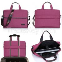 2016 With Straining Beam Shoulder Business Laptop Bag For 13.5''