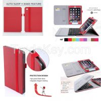 New Selling Products In Guangzhou Custom Design PU Leather Tablet Case For Apple iPad Air 2 With Keyboard