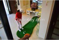Mini Indoor Golf Putting Mat