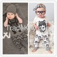 2016 Summer Style Infant Clothes Baby Clothing Sets Boy Cotton