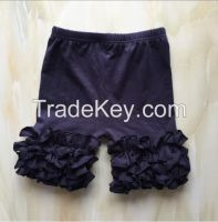 DYJ-365 Hot Sale Summer baby ruffle shorts outfit