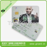 4G LTE mobile phone sim card with micro nano size
