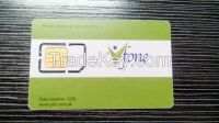 128k blank mobile phone sim cards