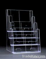 acrylic brochure display stand