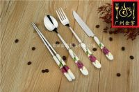 JZC013 | Stainless Steel Tableware, Utensils, Kitchenware & Dinnerware Sets