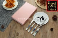 JZC007 | Ceramic Style Stainless Steel Tableware From Chinese Manufacturer