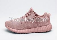Free Shipping Wholesale Kanye West Yeezy 350 Boost Pirate Pink ROSE UPGRADED FINAL Women's ports Running Athletic Sneakers Shoes Size 5-7.5