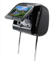 "7"" Headrest DVD Players (with touch screen and games)"