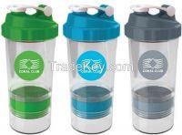 BPA free 3 in 1 Shaker Wholesale Protein Blender bottle
