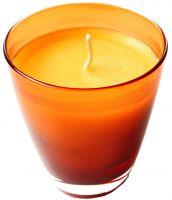 Organic beeswax natural candle