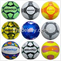Soccer Balls Footballs Official Size Weight PVC/TPU/PU
