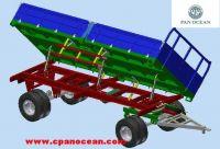 3 way tipping farm trailer