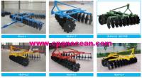 disc plough and disc harrow for farming