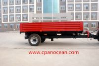 high quality 3 tons rear self tipping trailer european type for tractor