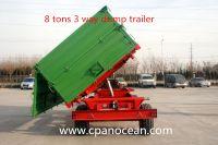 High Quality Farm Trailer Rear Tipping Trailer for Tractor/ Rear Tipping Trailer/ Farm Trailer Tipping Trailer/ Rear Tipping Trailer/ Tipping trailer