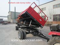 15 tons high quality agricultural  trailer for tractor