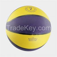 Popular rubber basketball 8 panels hot sale