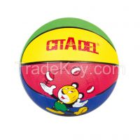 New style size 3 rubber basketball customized design and logo are welcome