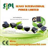 (Solar) Panel Poweredindustrial roof ventilation fan roof top ventilation fan ventilation fan for control panel