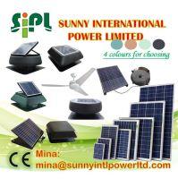 30 watt 40 watt solar panel (solar) energy green solar power attic vent (Solar) Panel Powered roof ventilation fan