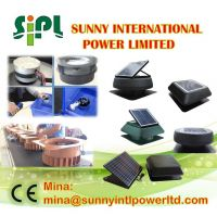 Portable Compact Solar System Monocrystalline Solar Panel Power Rechargeable (Solar) Attic Air Circulation cooling Fan