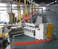 epdm co-rubber extrusion microwave vulcanization line rubber machine