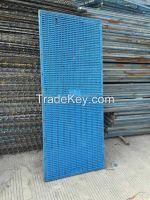 Plastics scaffolding