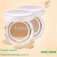 ODM OEM Moisturizing makeup waterproof air cushion BB cream thin cosmetic foundation