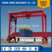 Rail Mounted Mobile Container U-Frame Gantry Crane