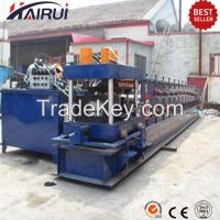 Hydralic cutting C purlin forming machine with punching holes