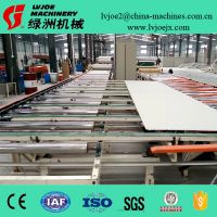 High Automatic Gypsum Ceiling Board PVC Laminating Machine