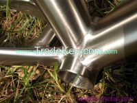Inner line routing 29er long seat tube Titanium MTB bicycle frames Customized mountain bike frame