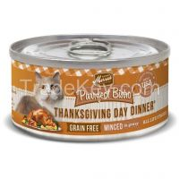 Merrick Purrrfect Bistro Cat Thanksgiving - 5 Oz Canned - Case of 24 Cans