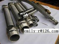 corrugated tube / flexible pipe / corrugated pipe / coupling