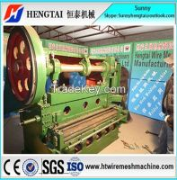 Advanced Technology Full Automatic Expanded Metal Mesh Making Machine