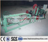 Easy To Operate Automatic Double Strand Barbed Wire Machine